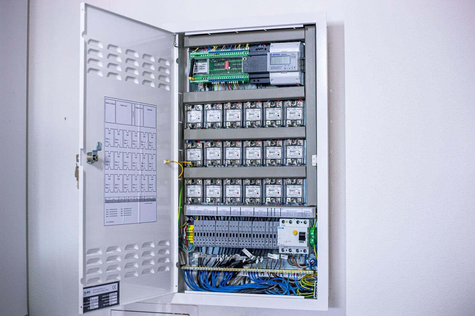 riadenie forhit elektrické kúrenie montáž
